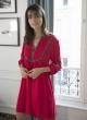Le Gang - Ba&sh - Robe Cale Rouge - photo produit non porté
