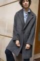 Le Gang - IRO - Manteau Wire Noir - photo produit porté de dos