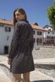 Le Gang - Ba&sh - Robe Sarah Noir - photo produit porté de face