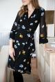 Le Gang - Ganni - Robe Dainty Floral - photo produit porté de dos