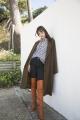 Le Gang - Isabel Marant Etoile  - Manteau Cody - photo produit porté de profil