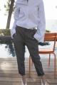 Le Gang - Isabel Marant Etoile  - Pantalon Noah  - photo produit porté de profil