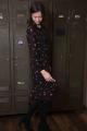 Le Gang - Claudie Pierlot - Robe RIPIENO fleurie - photo produit porté de profil