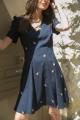 Le Gang - Tara Jarmon - Robe Victoria - photo produit porté de face