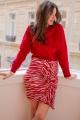 Le Gang - Isabel Marant - Sweat Rouge - photo produit porté de dos