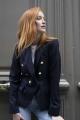 Le Gang - Stella McCartney - Blazer June Blue - photo produit porté de face
