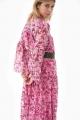 Le Gang - Michael Kors - Robe Hibiscus - photo produit porté de profil