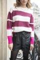 Le Gang - Isabel Marant - Jupe en cuir Nela - photo produit porté de face