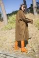Le Gang - Isabel Marant Etoile  - Manteau Cody - photo produit porté de dos