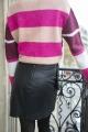 Le Gang - Isabel Marant - Jupe en cuir Nela - photo produit porté de dos