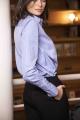 Le Gang - Stella McCartney - Chemise blue rayure - photo produit porté de profil