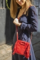Le Gang - Maje - Sac Mini M Rouge - photo produit non porté