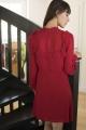 Le Gang - Reformation - Robe Framboise - photo produit porté de dos