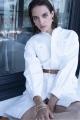 Le Gang - Soeur - Robe Focus Craie - photo produit porté de dos