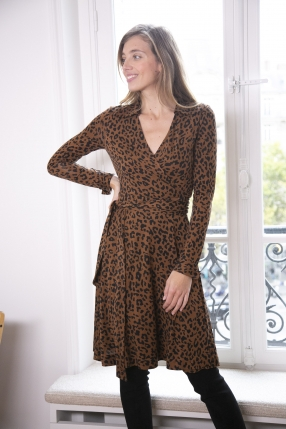 NEW JULIAN BROWN ANIMAL PRINT - DIANE VON FURSTENBERG - Le gang