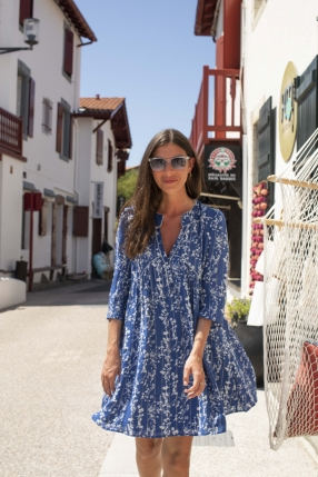 Robe Freeza Bleu - BA&SH - L'Habibliothèque