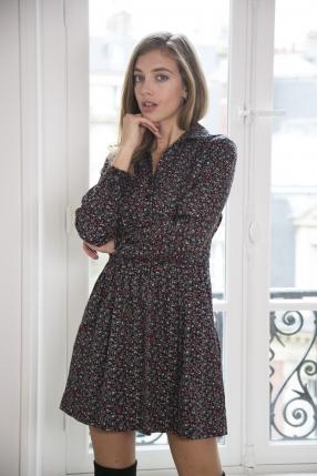 Robe Sarah Noir - BA&SH - Le gang