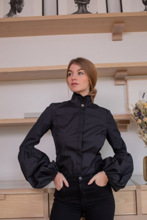 Chemise Jacqueline Balloon - CAROLINE CONSTAS - L'Habibliothèque