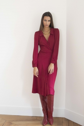 Robe Burgundy - WILD PONY - Le gang