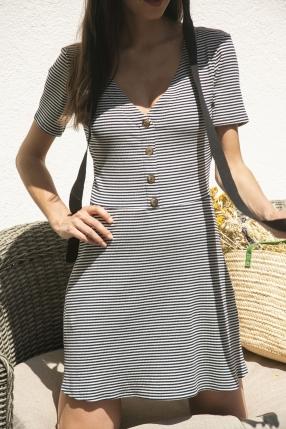 Robe Mini Stripe - REFORMATION - L'Habibliothèque