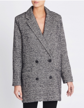 Manteau Animal Gris - IRO - Le gang