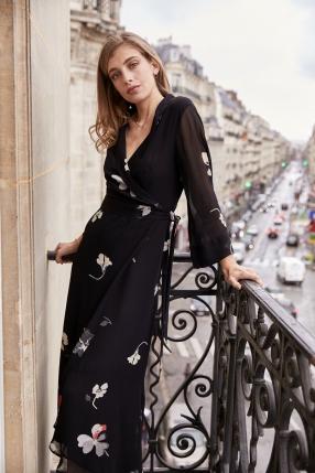 Robe Imprimé Fleuri - GANNI - L'Habibliothèque
