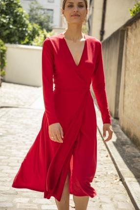 Robe Red - REFORMATION - L'Habibliothèque