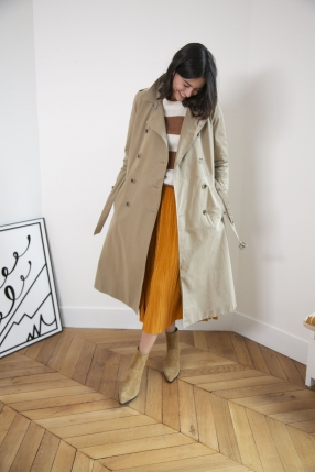 Manteau Trench Taupe - VANESSA SEWARD - Le gang