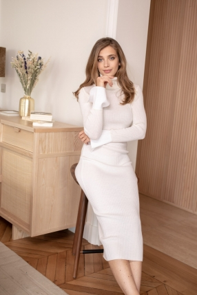 Robe White Dress - KARINE LECCHI - Le gang