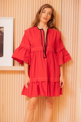 Robe Mini Red - PHILOSOPHY DI SERAFINI - L'Habibliothèque