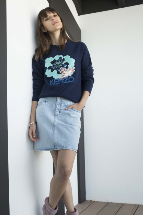 Sweat Indonesian Flower - KENZO - Le gang