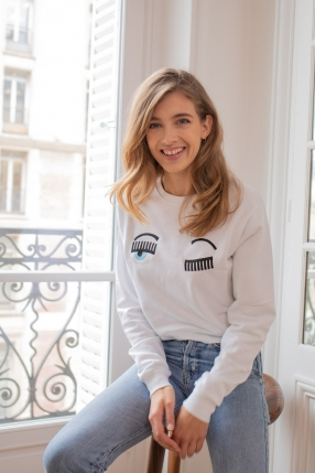 Sweat Flirting Eyes - CHIARA FERRAGNI - L'Habibliothèque