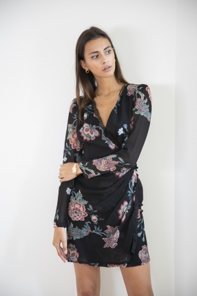 Robe Georgette St Fiore - PINKO - Le gang