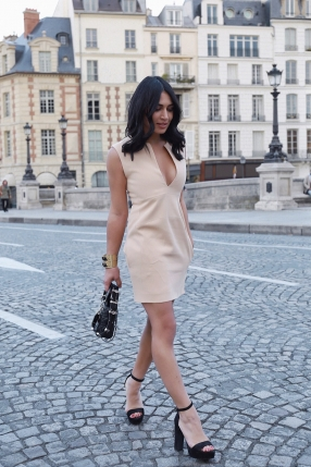 Robe Mini Nude - CÉLINE - Le gang
