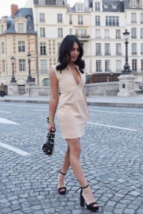 Robe Mini Nude - CÉLINE - L'Habibliothèque