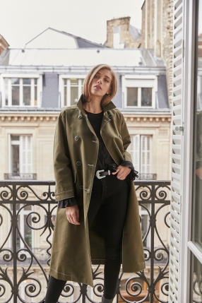 Manteau Olive - ANOTHER VICTORY  - Le gang