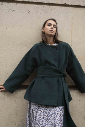 Manteau Emerald - COMPANIA FANTASTICA - L'Habibliothèque