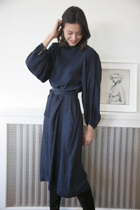 Robe Quentin Navy - INDRESS - Le gang