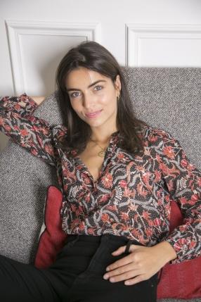 Top Maria noir - ISABEL MARANT - L'Habibliothèque