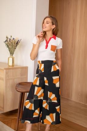 Pantalon Multicolore - SUOLI - L'Habibliothèque