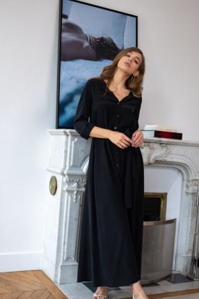 Robe Black - VANESSA BRUNO - L'Habibliothèque