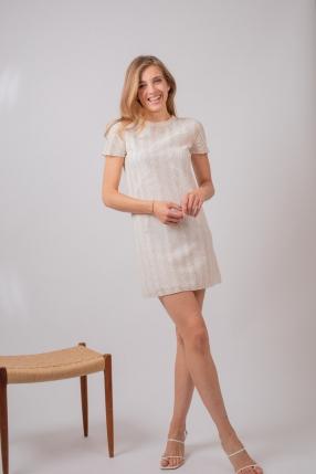 Robe White Lace - VANESSA BRUNO - L'Habibliothèque