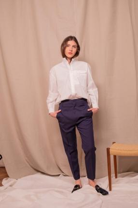 Chemise Edna blanc - SOEUR - L'Habibliothèque