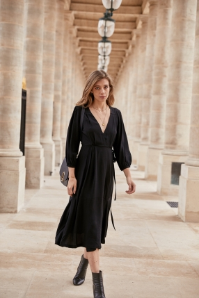 Robe Victoria Black - MIRAE - L'Habibliothèque