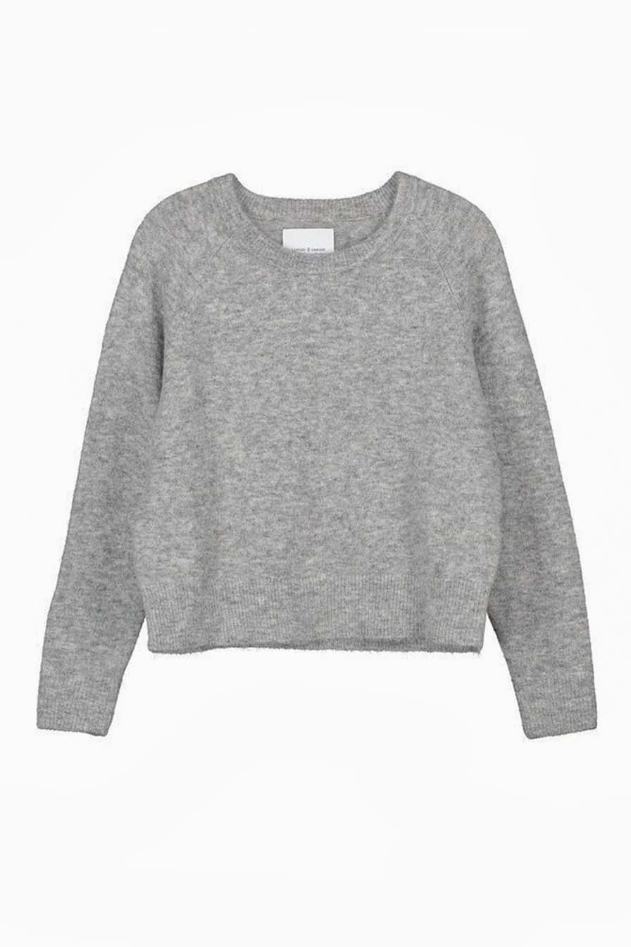 Le Gang - Samsøe Samsøe - Pull Nor o-n short Grey
